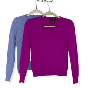 Bundle Lord & Taylor 100% Cashmere Sweaters